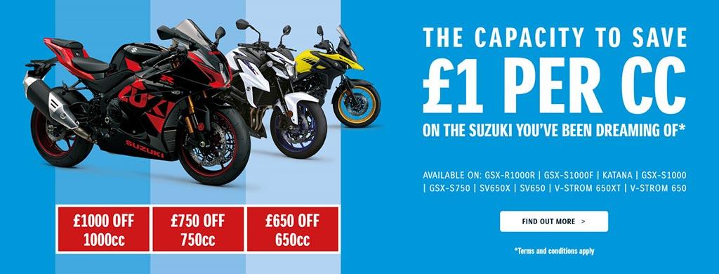 Suzuki The Capacity to Save Offer